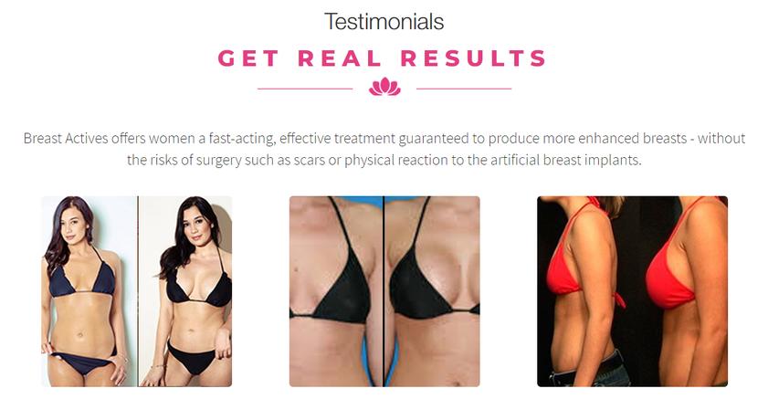 Breast Actives Enhancement Cream Reviews 2020 Also Ebook Offer